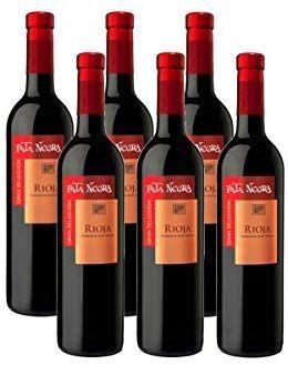 Pata Negra Gran Selección D.O Rioja Vino Tinto - 6 Botellas
