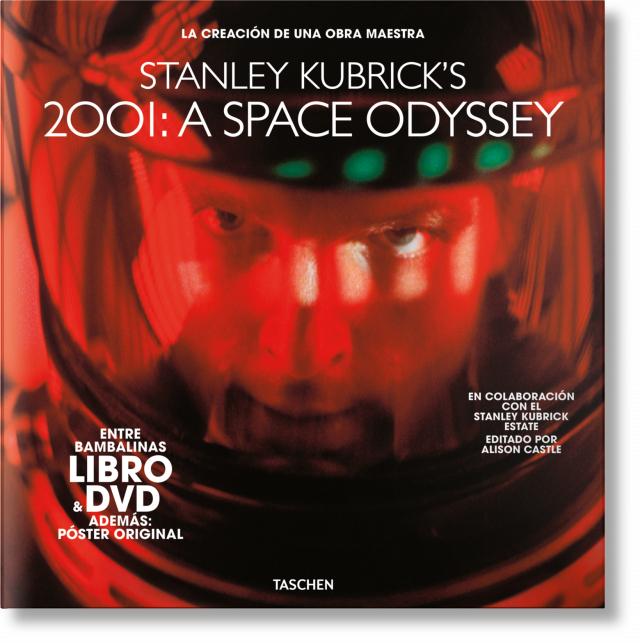 TASCHEN - Libro de Stanley Kubrick. 2001: una odisea del espacio con DVD y póster