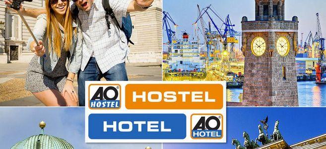Hoteles desde sólo 2€ por noche en Europa. Promoción A&O hotels and hostels