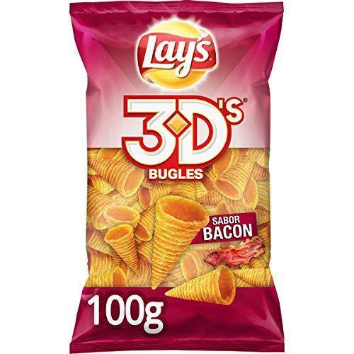 Lay's Bugles 3D's Bacón - 100 g - (2ª unidad al 50%) HAY QUE COMPRAR DOS UNIDADES