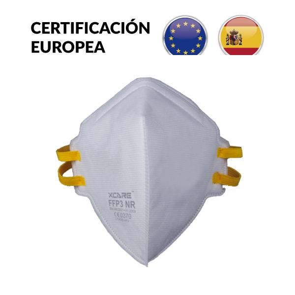 50 Mascarillas FFP3 de 5 Capas con Certificación Europea