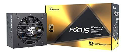Fuente de alimentación para PC Seasonic FOCUS GX-650 80PLUS Gold 650 vatios