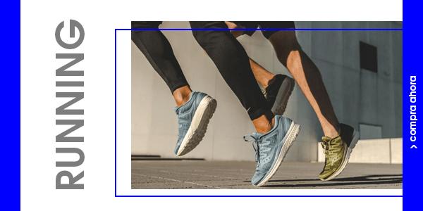 Zapatillas Running Hombre por debajo de 30€. Varios modelos.