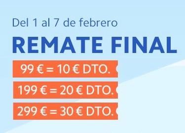 Descuento 10/99€ - 20/199€ - 30/299€ + CUPONES 10/20€ MI España