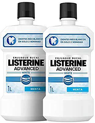 Pack 2 x 1 L Listerine Advanced por 10,25 € (suscripción)