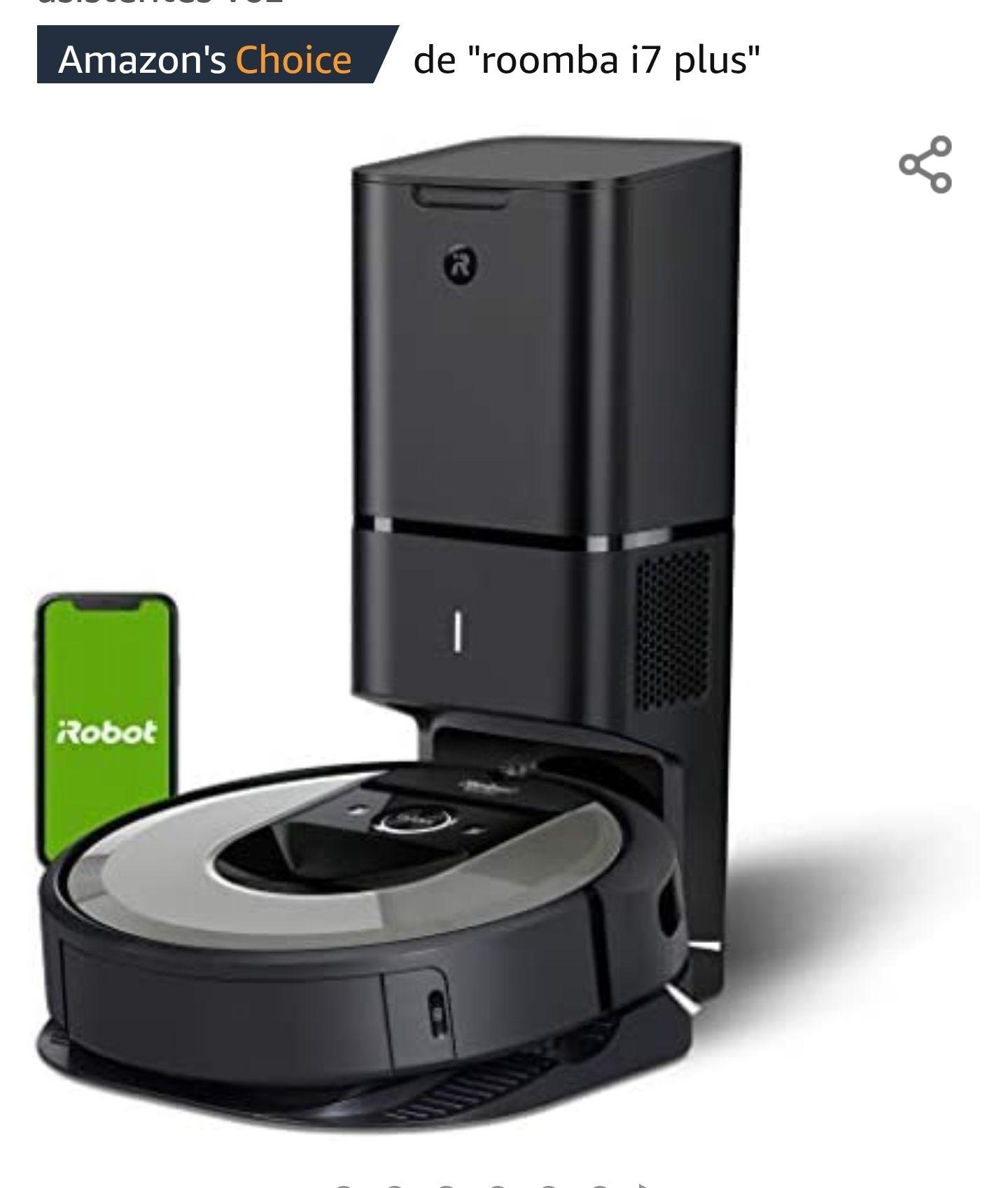 Robot aspirador iRobot Roomba i7+ (i7556) con Vaciado automático