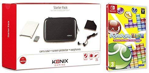 Puyo Puyo Tetris + Konix Starter Pack Switch