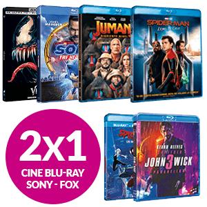 2X1 en BLU-RAY desde 4.95€