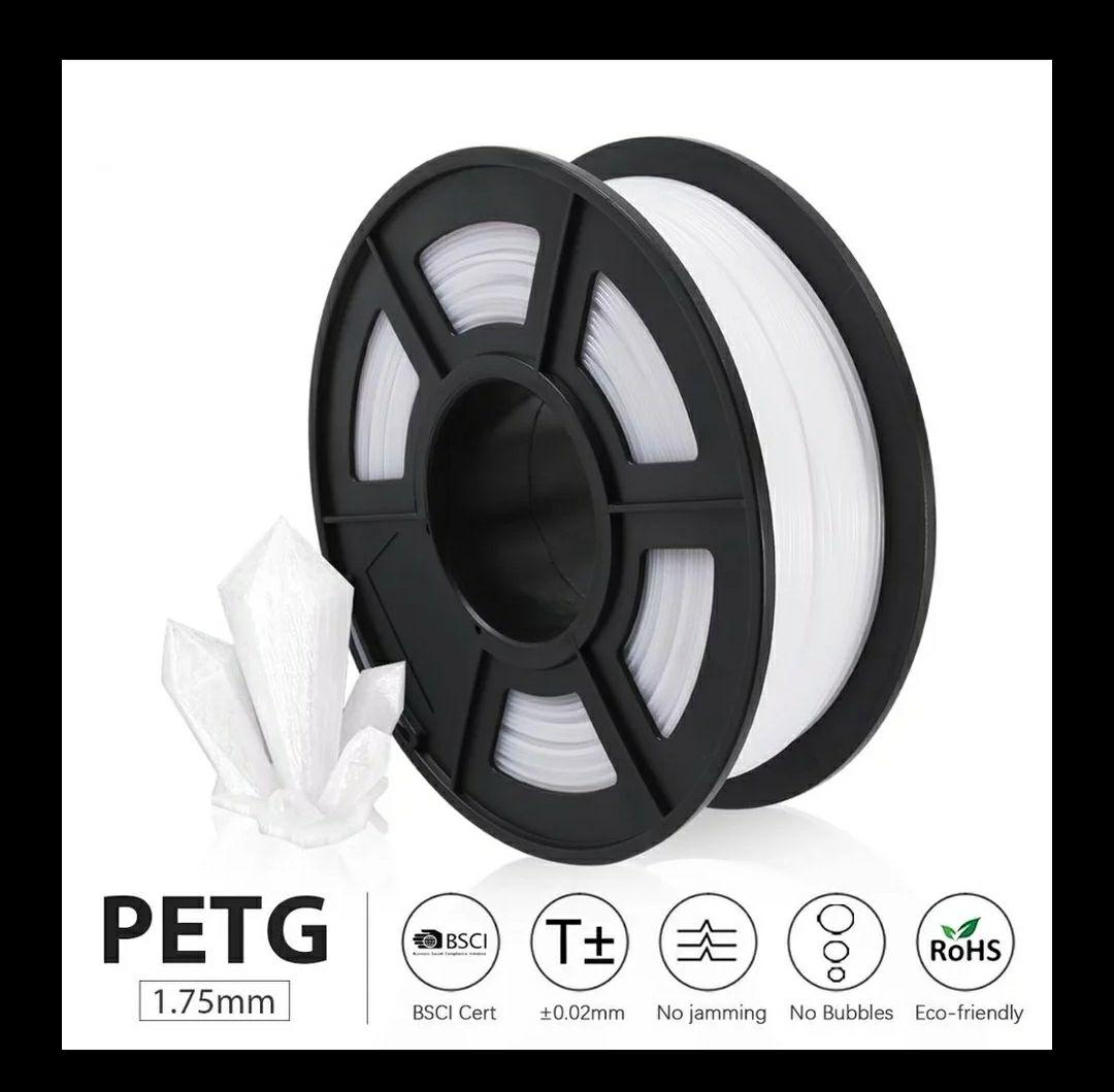 1KG Filamento petg SUNLU 1.75 Blanco