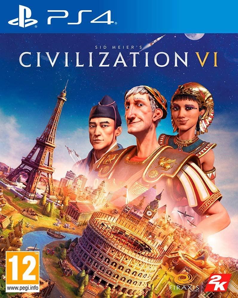 PS4: PS4 Civilization VI por sólo 10,90€ (juego físico)