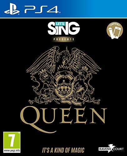 PS4: Let's Sing Queen (juego físico)