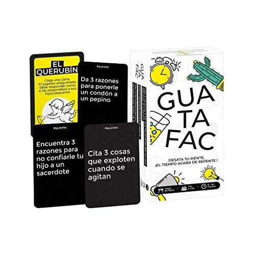 GUATAFAC Juego de Mesa - 21,90€ en lugar de 29,90€ - Solo HOY - 1 Feb