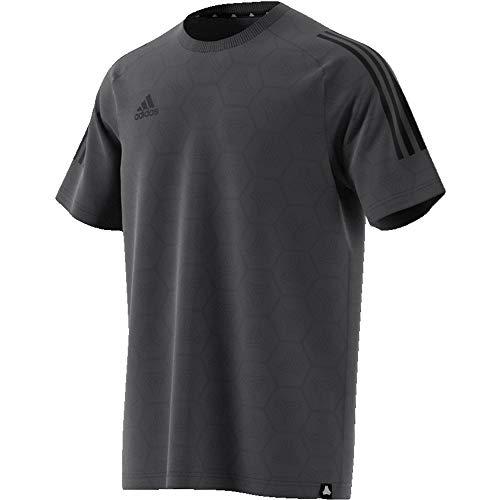 Camiseta adidas Tan Jaquard, para Hombre, gris , talla L