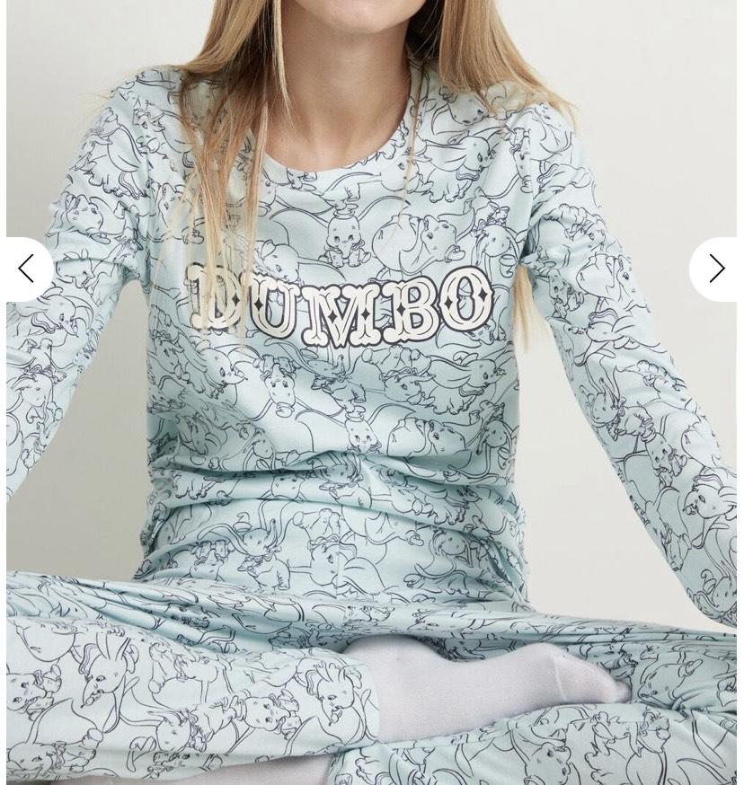 Pijama Largo de Algodón Disney Dumbo talla M