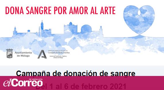 """MALAGA (01/02 - 06/02): """"Dona Sangre por amor al arte"""" - Por donar sangre, entradas para los museos (GRATIS)"""