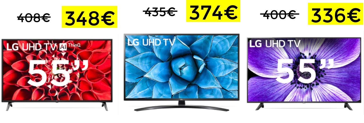 """Televisores LG serie 7 55"""" desde 336€ (desde España)"""