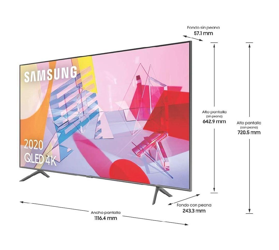 """Samsung QLED 4K 2020 50Q60T - Smart TV de 50"""""""