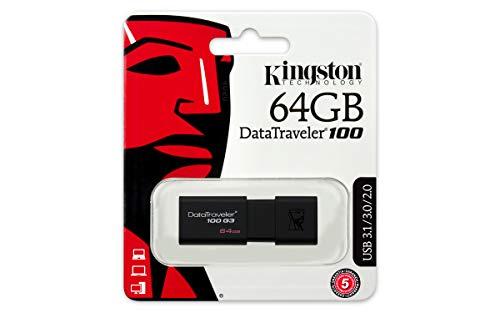 Kingston DataTraveler 64GB, USB 3.0