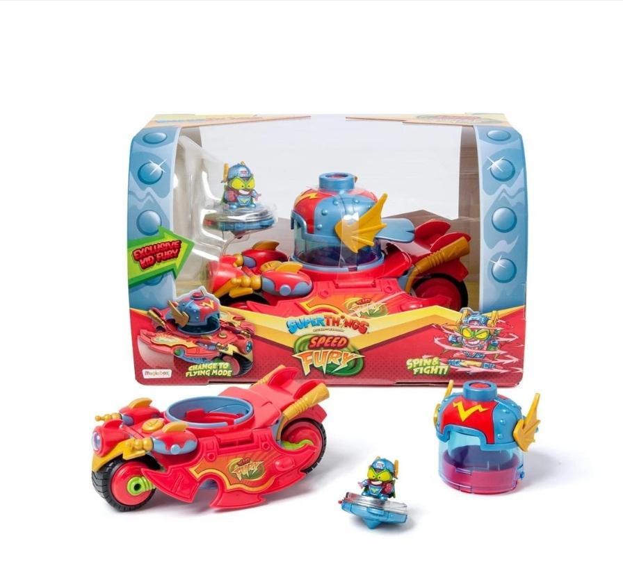 Speed Fury y Kazoom Racer SuperThings (Carrefour Nassica)