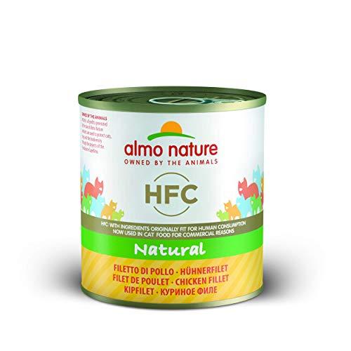 Almo nature HFC Natural - Filete de pollo, 12 x 280g (gatos)
