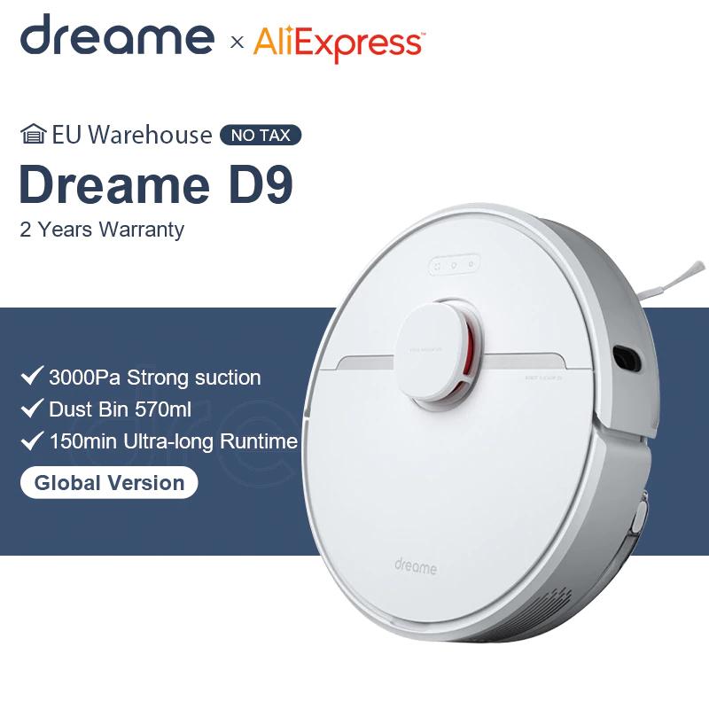 DREAME D9 Robot aspirador 3000PA desde España
