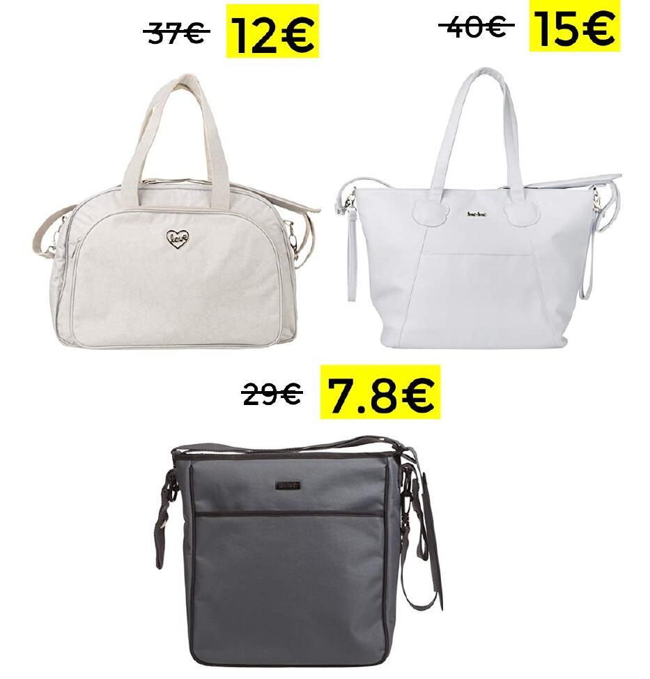 Preciazos en bolsos de maternidad TUC TUC