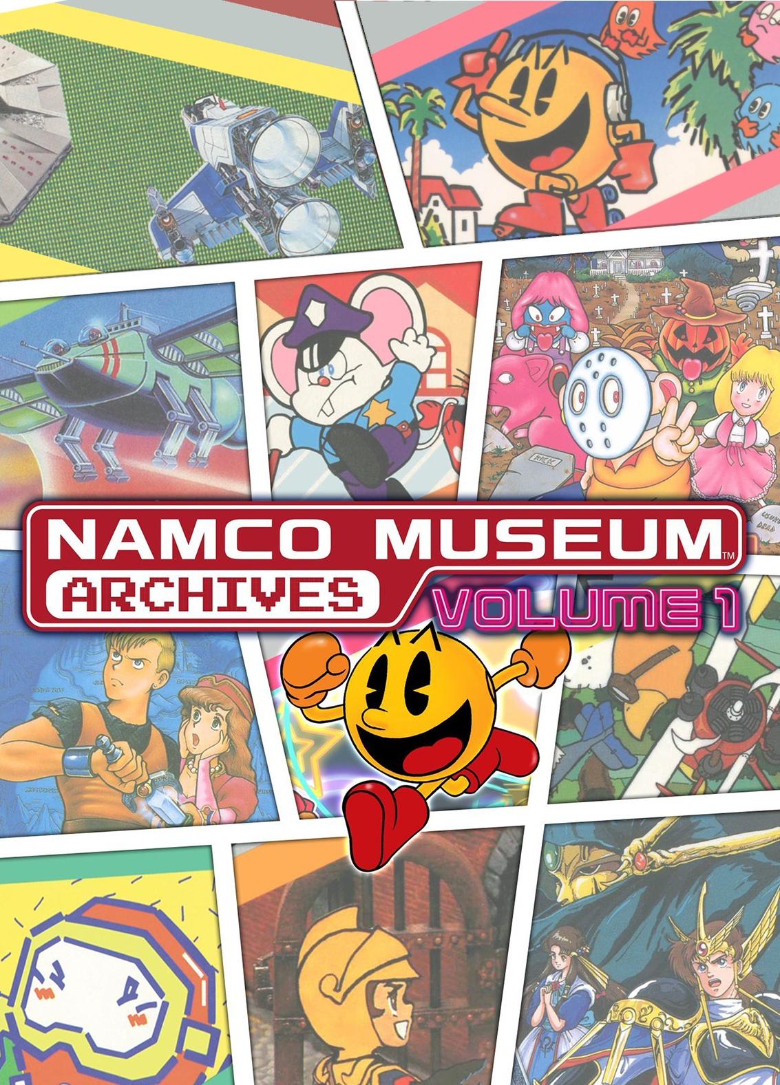 Juegos clásicos de Namco para PS4