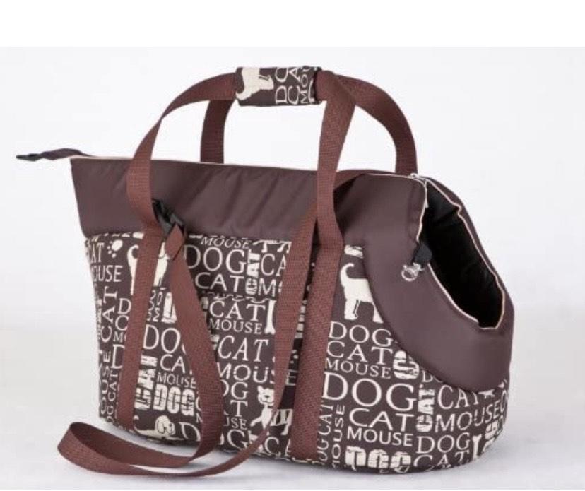 Hobbydog - Bolsa de Transporte para Perros y Gatos, tamaño 1, subtítulos