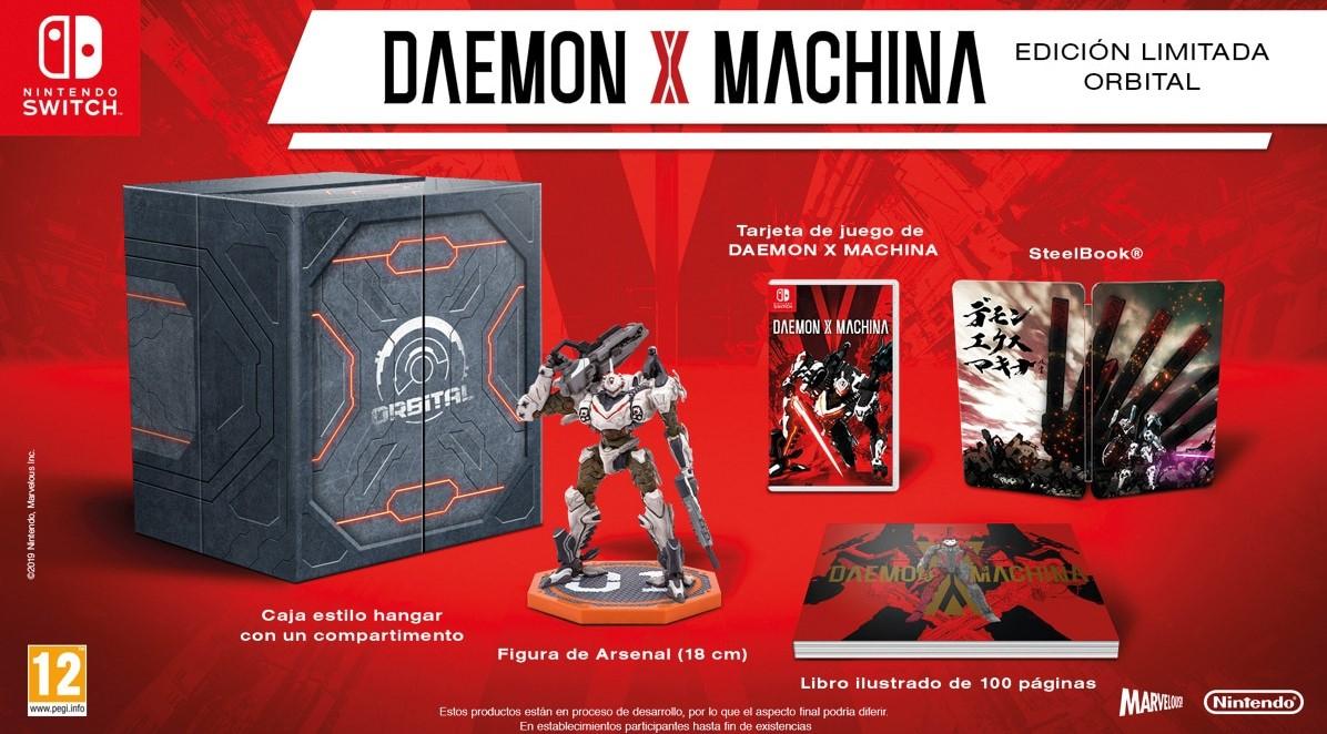 Daemon X Machina Edición Limitada - Nintendo Switch (precio recogida en tienda)
