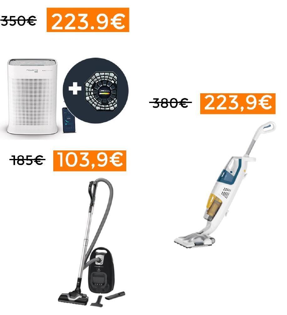 Ofertas Rowenta (purificador y aspiradoras) // Actualizado: ahora 20% EXTRA