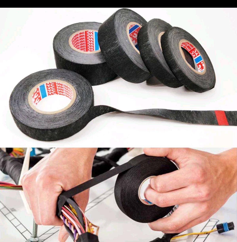 cinta de tela adhesiva tipo Coroplast Tesa