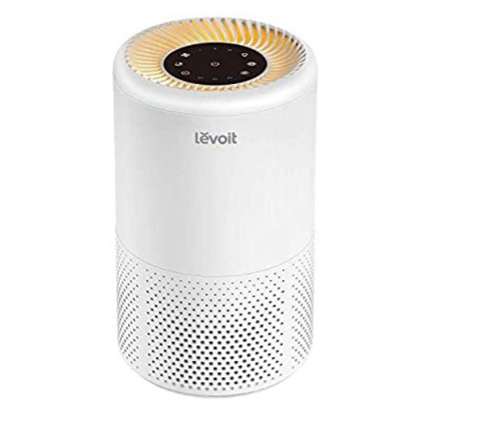 LEVOIT Purificador de Aire Portátil con Filtro HEPA para Hogar y Oficina