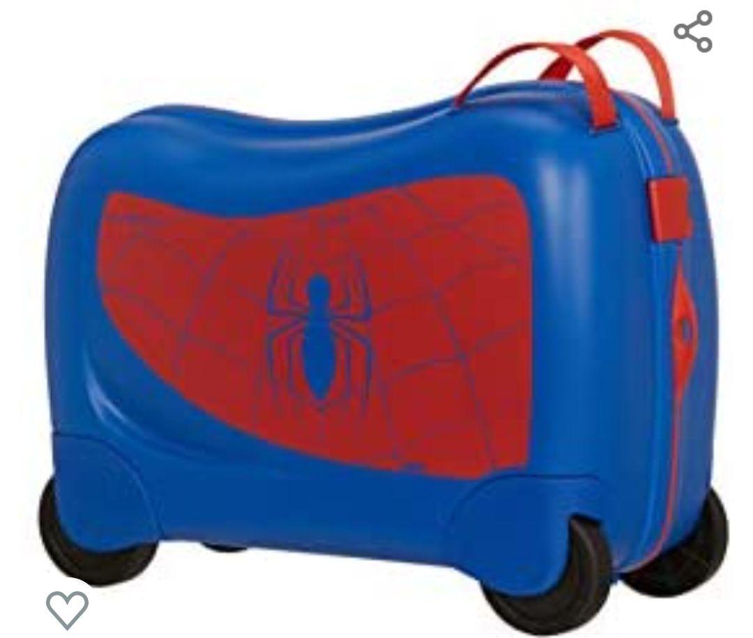 Samsonite Dream Rider Disney - Equipaje Infantil, 51 cm, 28 L, Azul (Spider-Man)