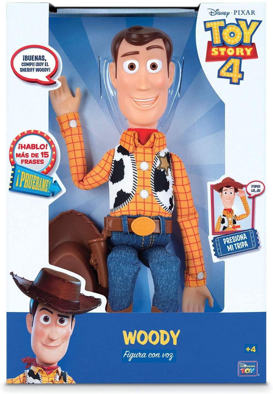 Sheriff Woody 40cm con voz solo 15€