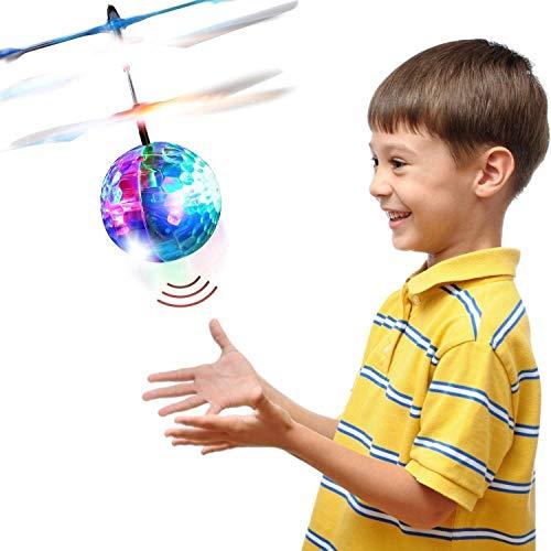 Betheaces Bolas Voladoras, RC Helicopteros Teledirigidos con Luces LED Brillantes