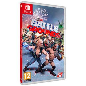 2x Wwe 2k battleground Nintendo Switch Nuevo.