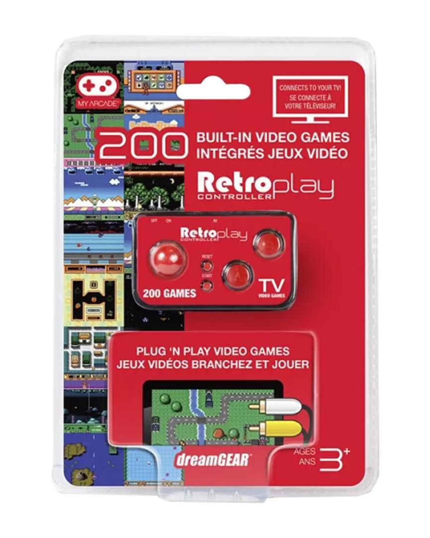 Consola Mando Retroplay (200 juegos)