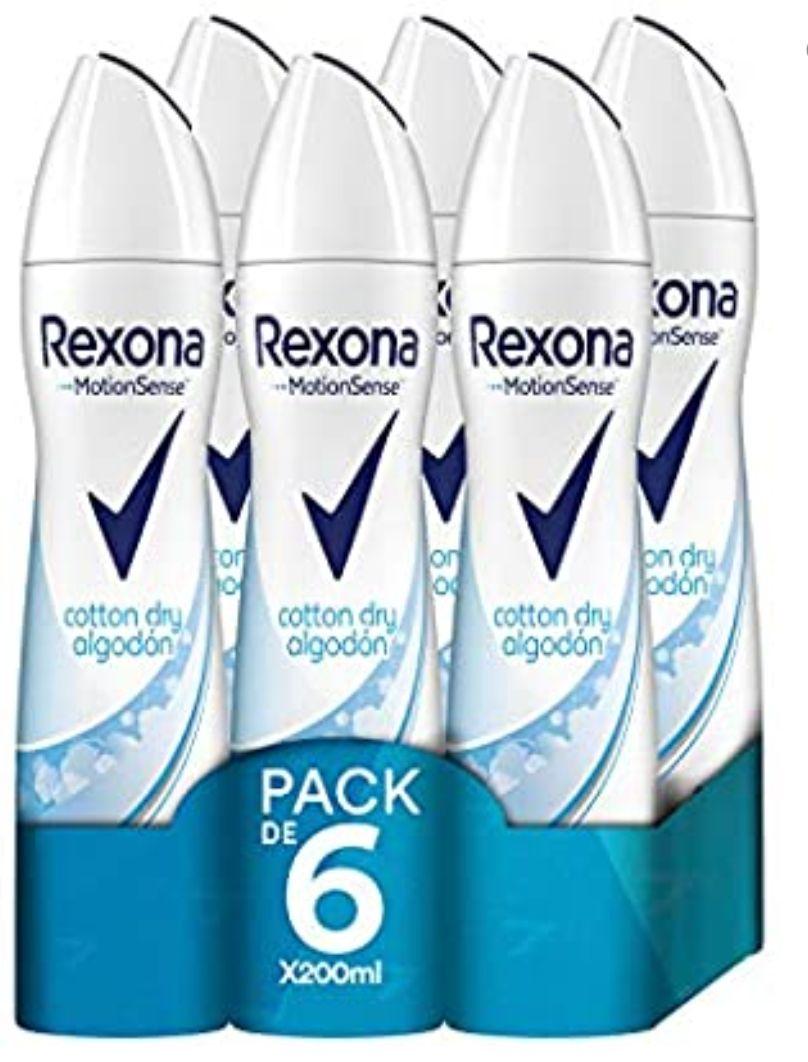 Rexona spray pack de 6 ( compra recurrente)