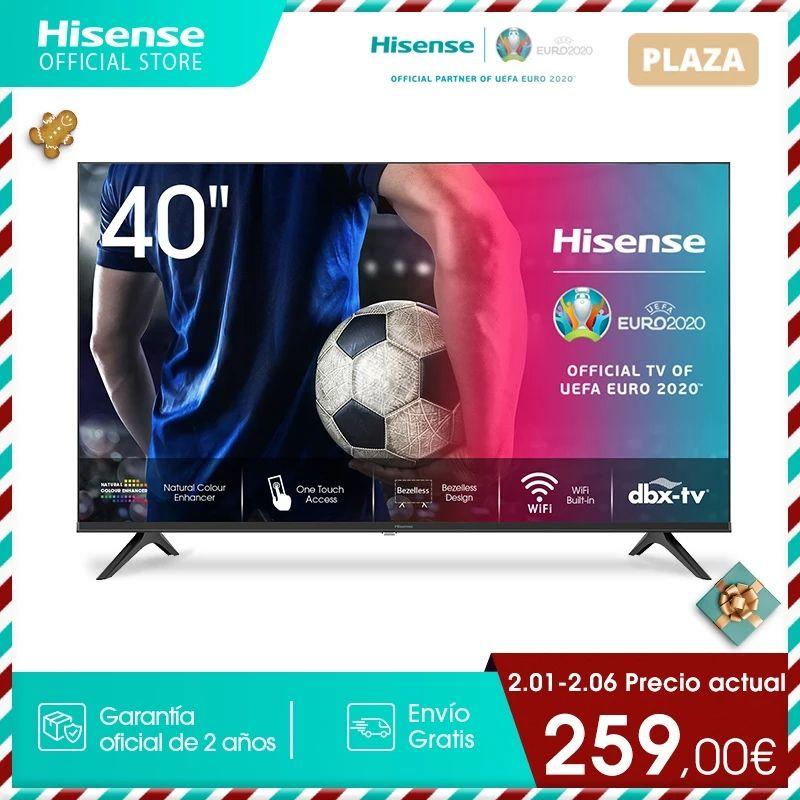 "Hisense 40"" Smart TV - 40A5600F FullHD"