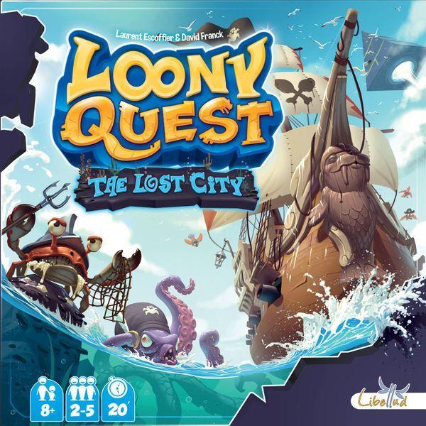 Loony Quest: The Lost City (Expansión) Juego de mesa