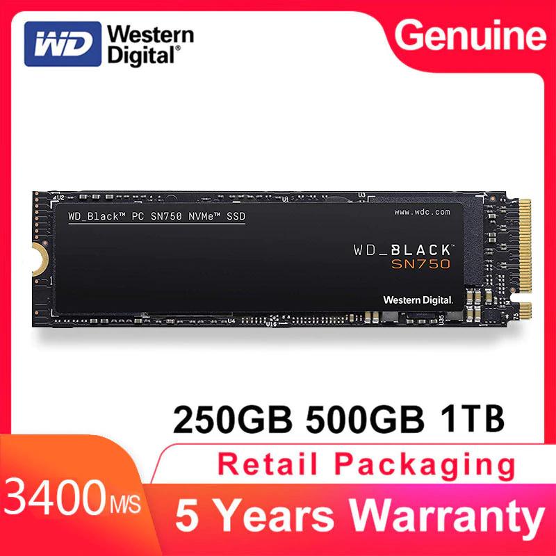 WD Black SN750 500gb 3400mb/s