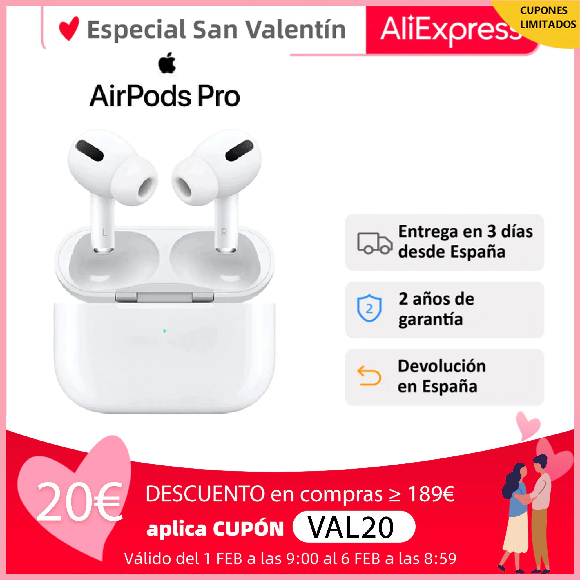 Auriculares Apple Airpods Pro desde España
