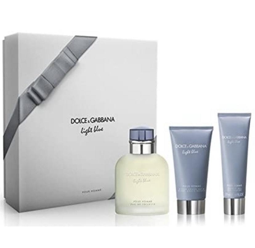 Dolce & Gabbana Light Blue Pour Homme Estuche Edt 125