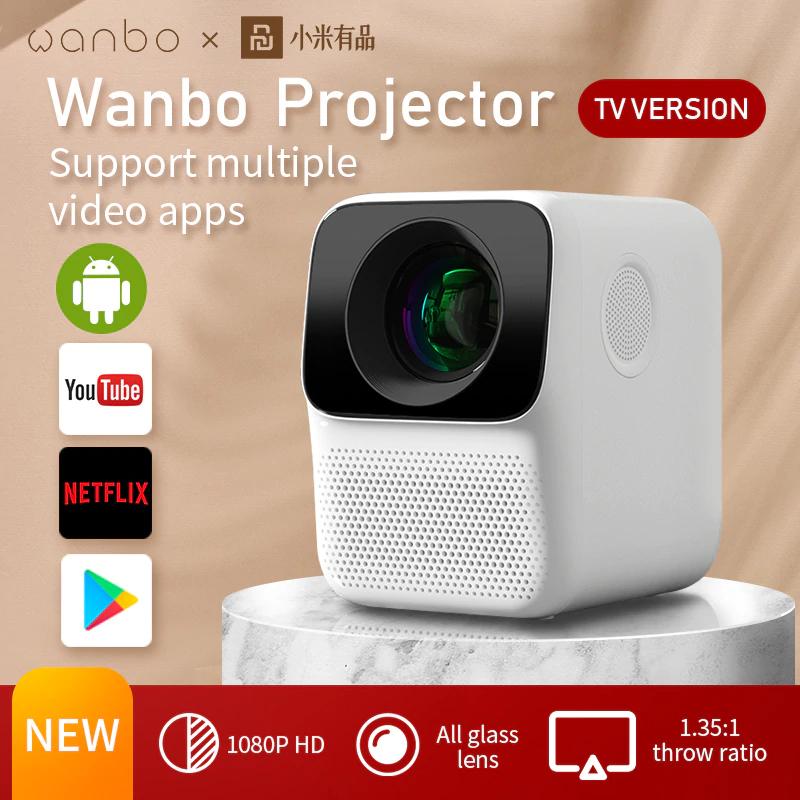 Proyector Portable Wanbo T2 Max [Versión Global]