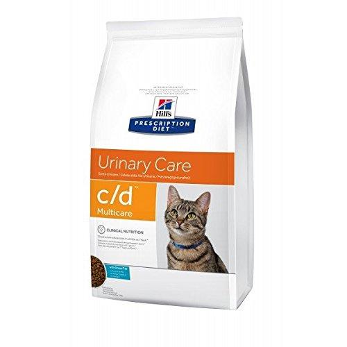 Hill's Diet gatos C/D Pesca, 1.5 kg (paquete de 2)