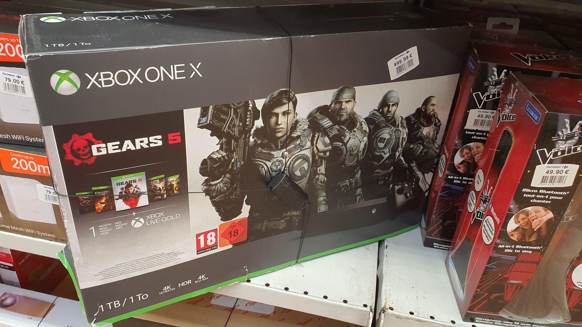 Xbox One X + Mando + Gears 5 + 1 Mes De Pass Ultimate