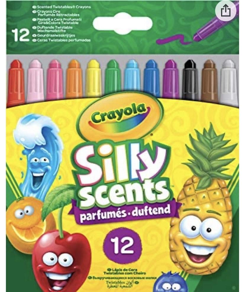 12 crayones perfumados