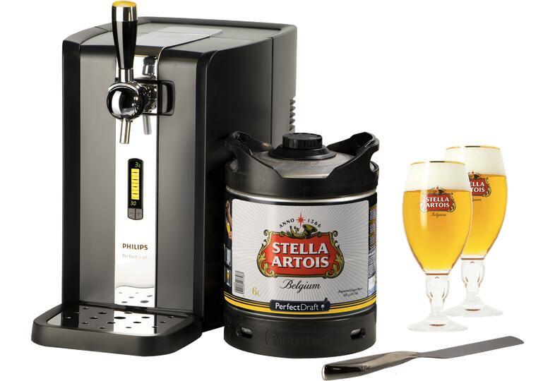 Pack Grifo Perfectdraft Stella Artois + 2 Vasos + Espátula