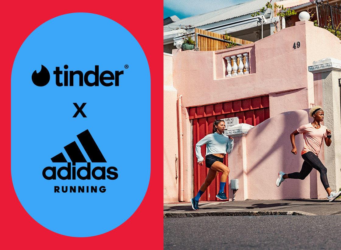 1 mes gratis de Tinder Gold [Adidas Running]