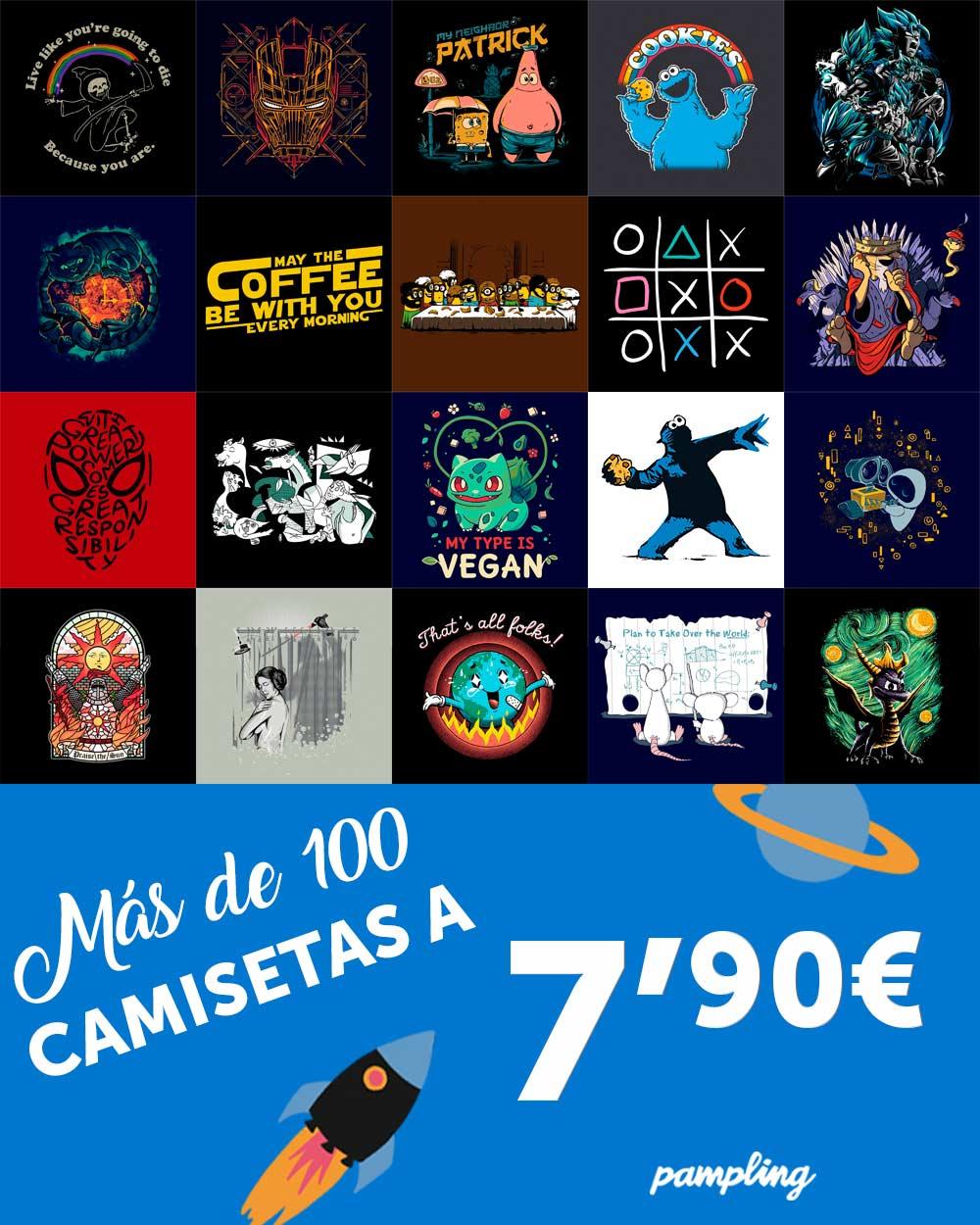 Camisetas PAMPLING a 7.9€